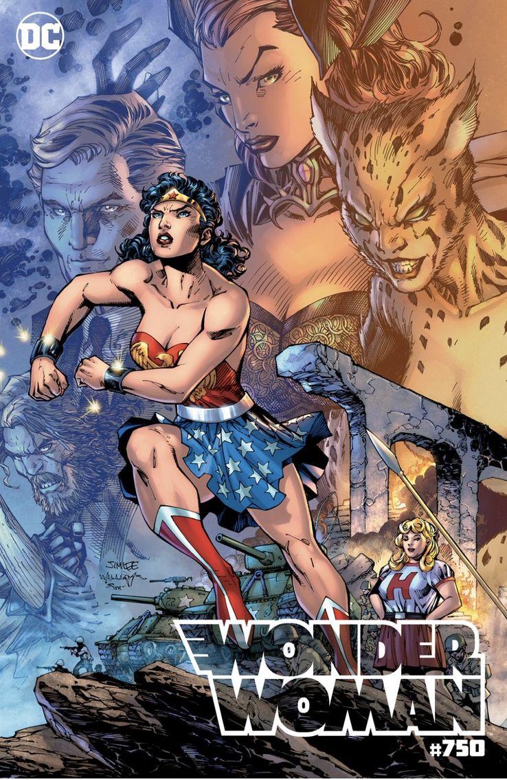 Wonder Woman 750 DC Comics Variant Jim lee