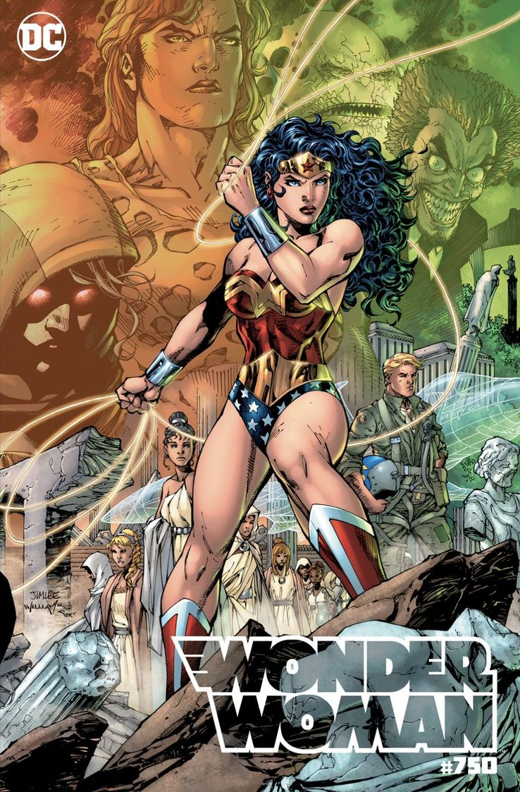 Wonder Woman 750 DC Comics Variant Jim lee
