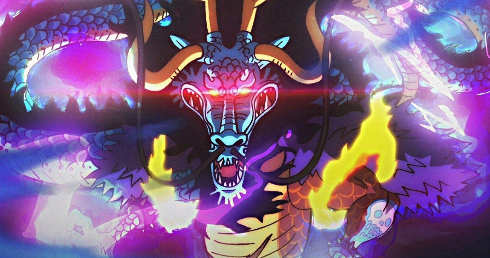 One Piece: Kaido Beats Luffy and the Straw Hat Pirates ...