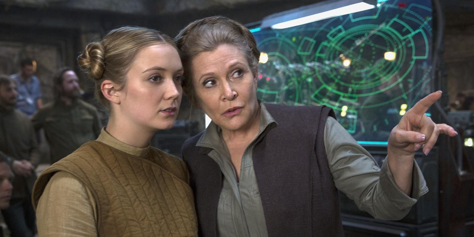 Star Wars: Rise Of Skywalker VFX Artist Confirms Billie Lourd's Double-Duty