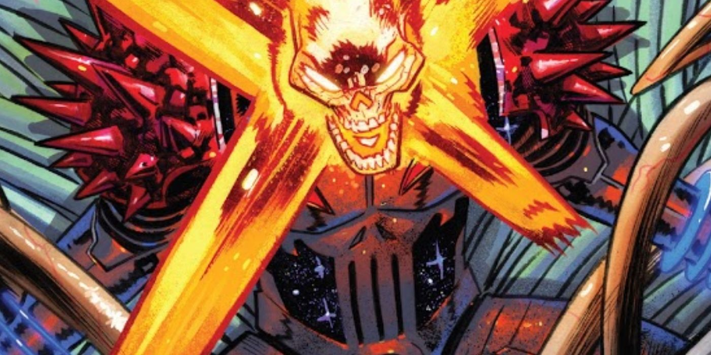 Cosmic Ghost Rider Has Become a Galactic-Level Punisher | CBR