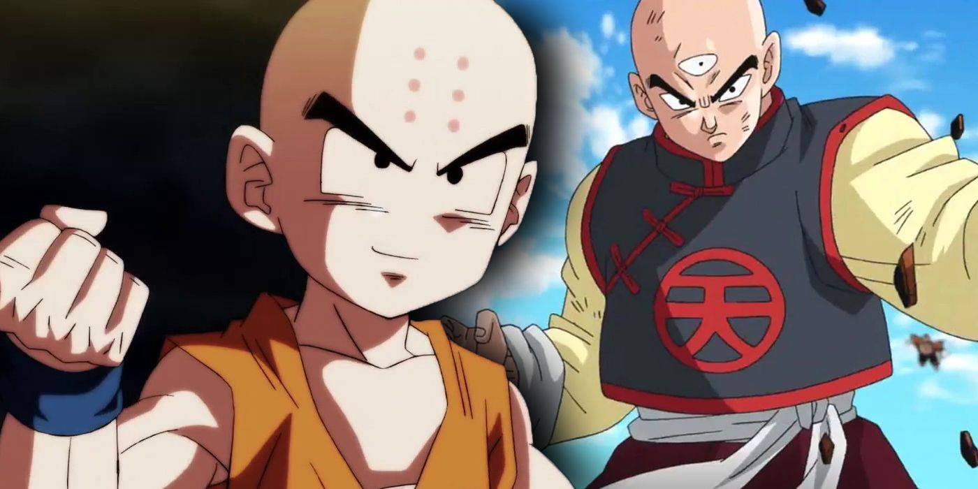 Dragon Ball: Who's the Strongest Human - Krillin or Tien?   CBR
