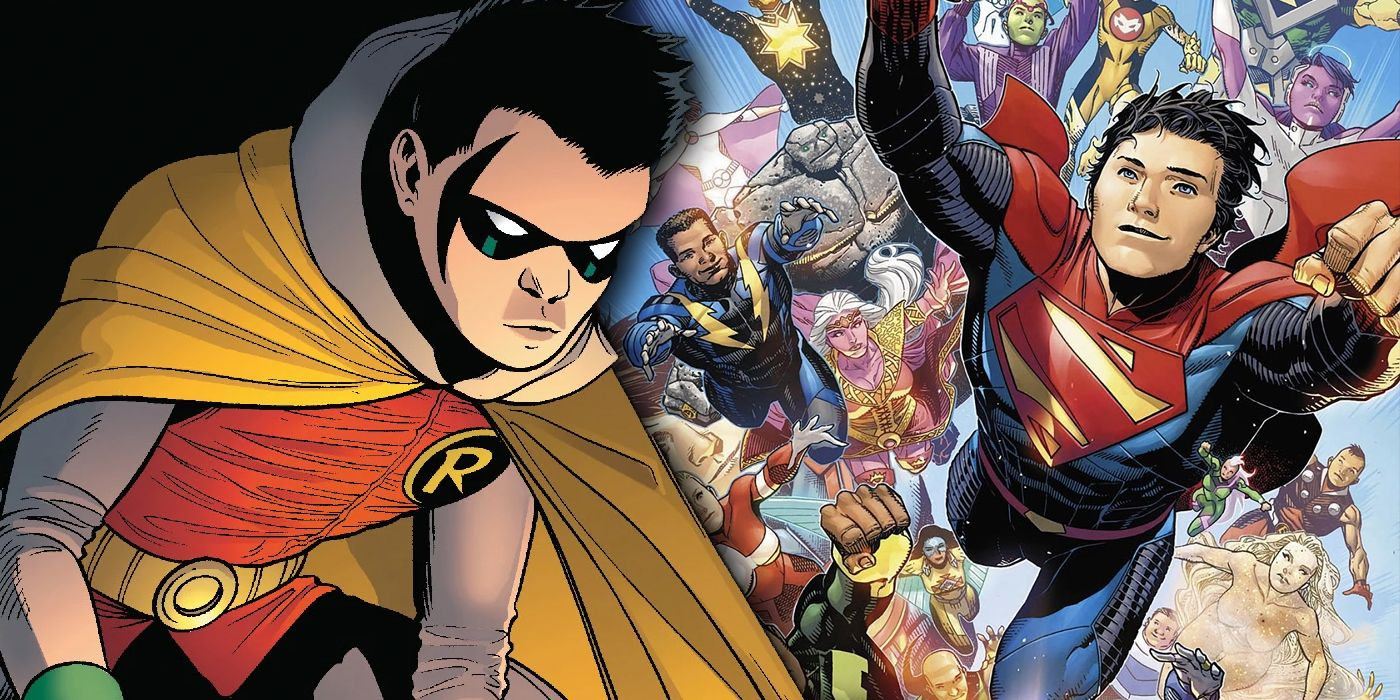 Legion of Super-Heroes Hints At One of Robin's (Many) Dark Fates
