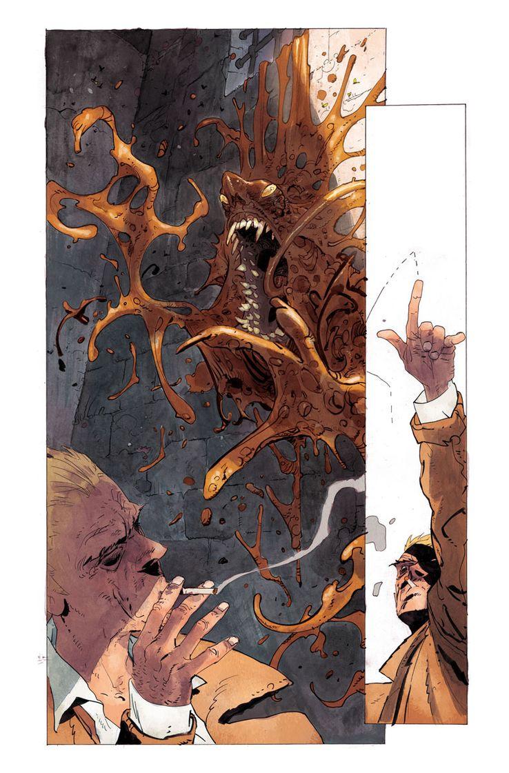DC Comics Sandman Universe Constantine Hellblazer