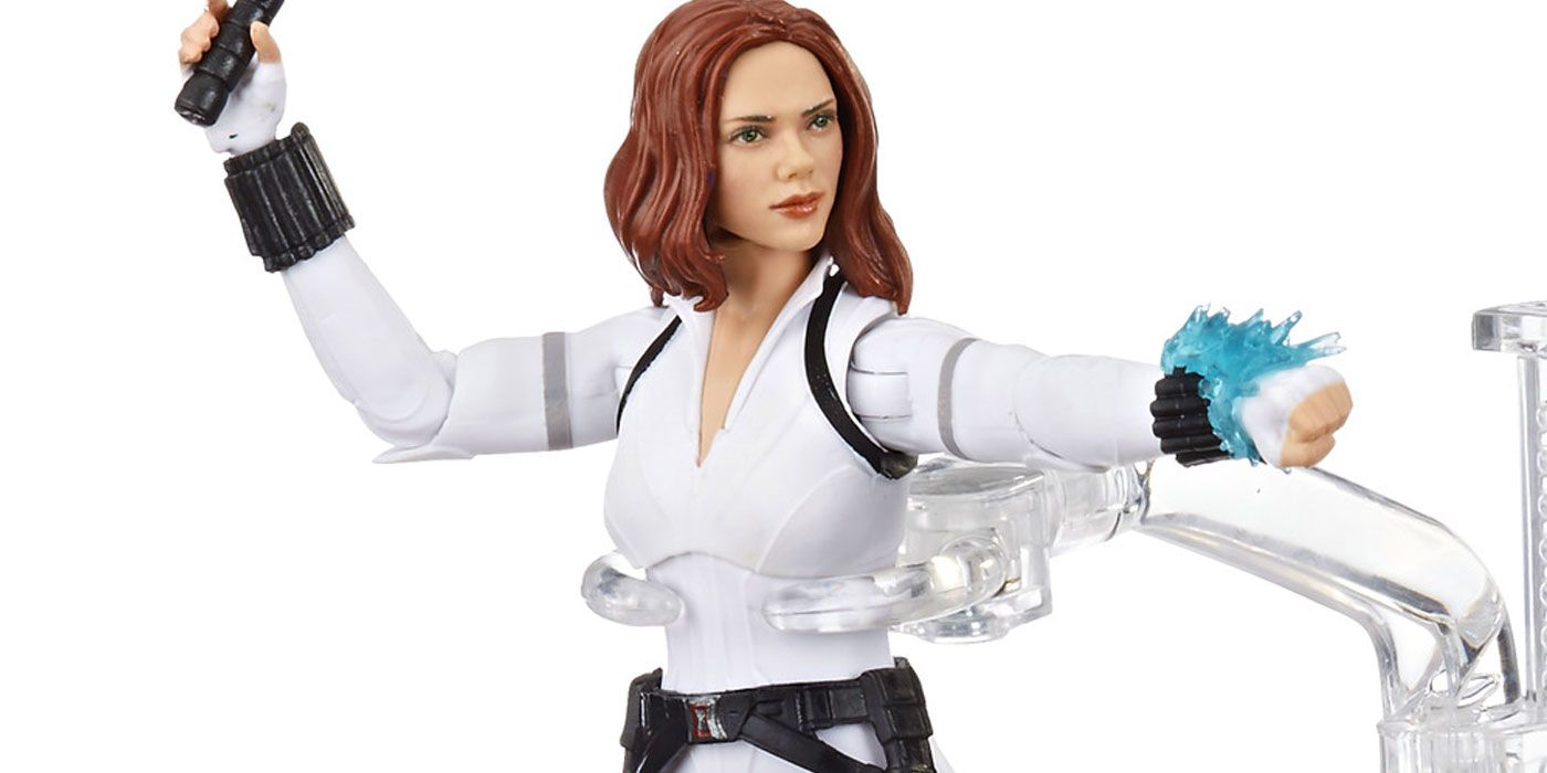 Hasbro Unveils Black Widow's Explosive Marvel Legends Action Figure