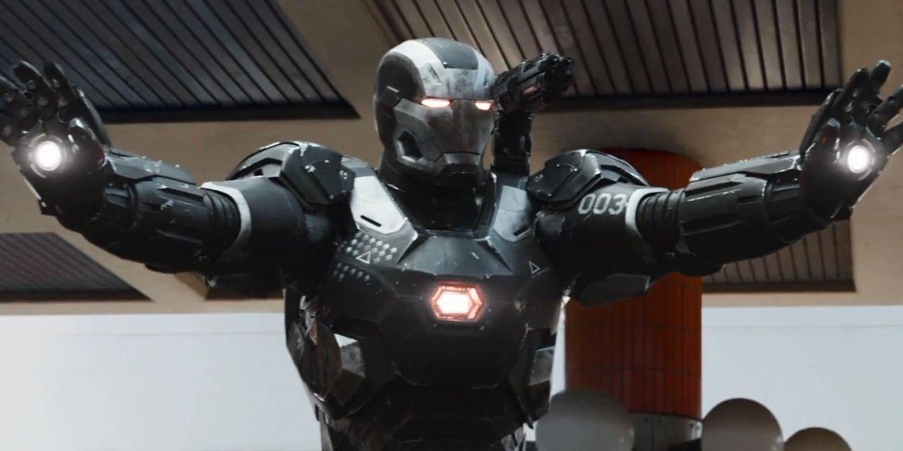 Infinity War Art Reveals War Machine Scene Cut for Iron Man 3 Similarities