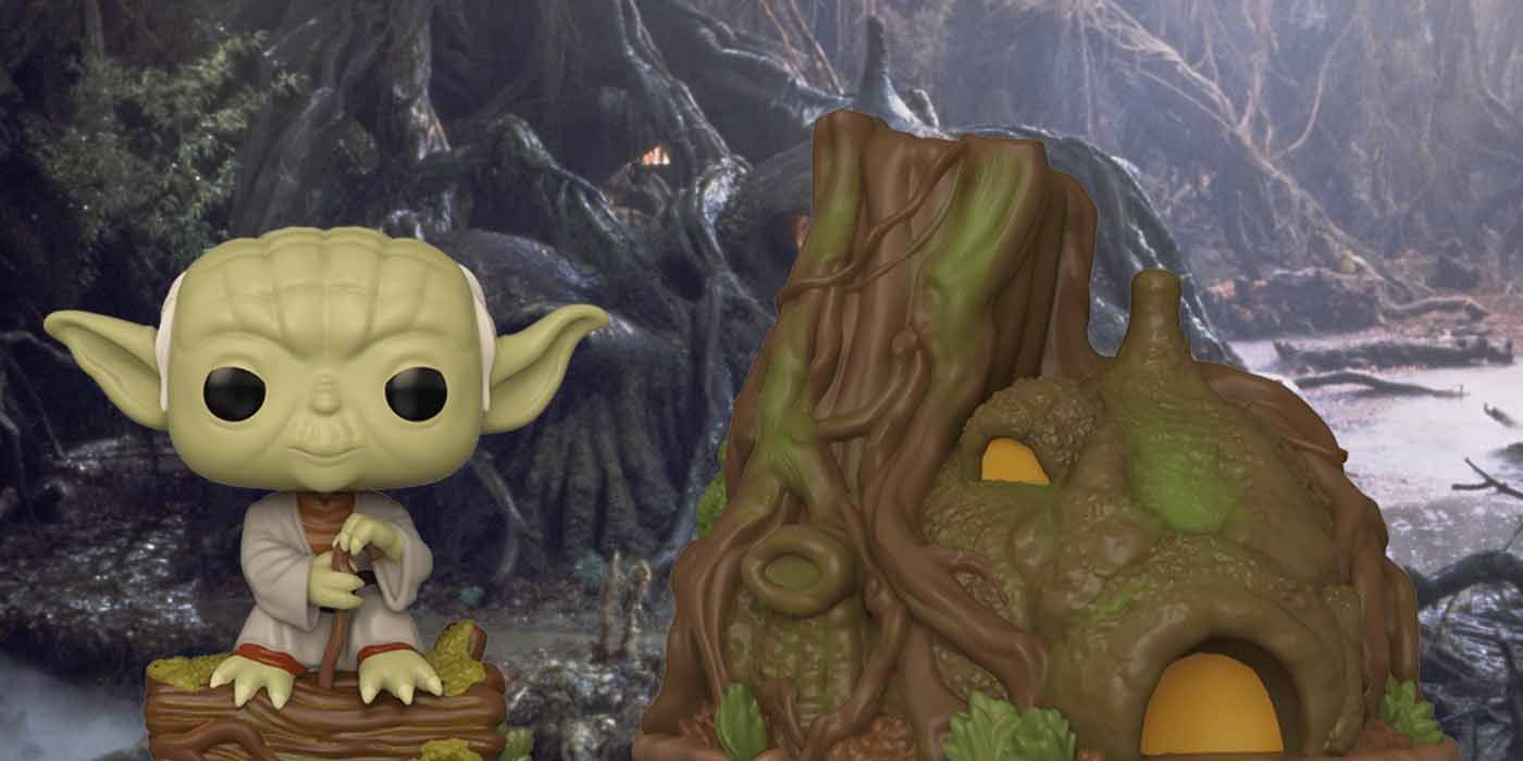 Star Wars: Yoda's Hut Joins Funko! Empire Strikes Back Collection