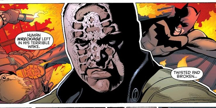 Image result for bootface dc villain