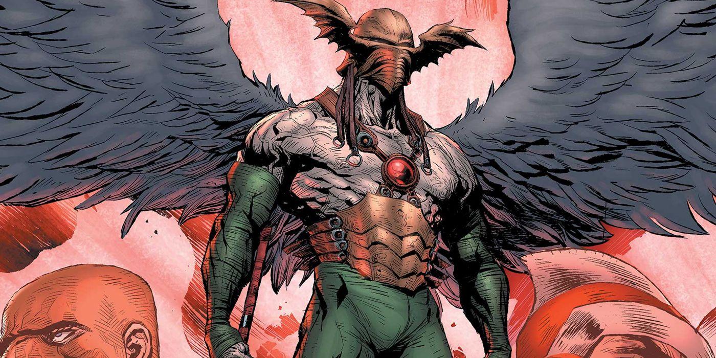 JLA vs JLD [JLA + JLD] Hawkman-Sky-Tyrant