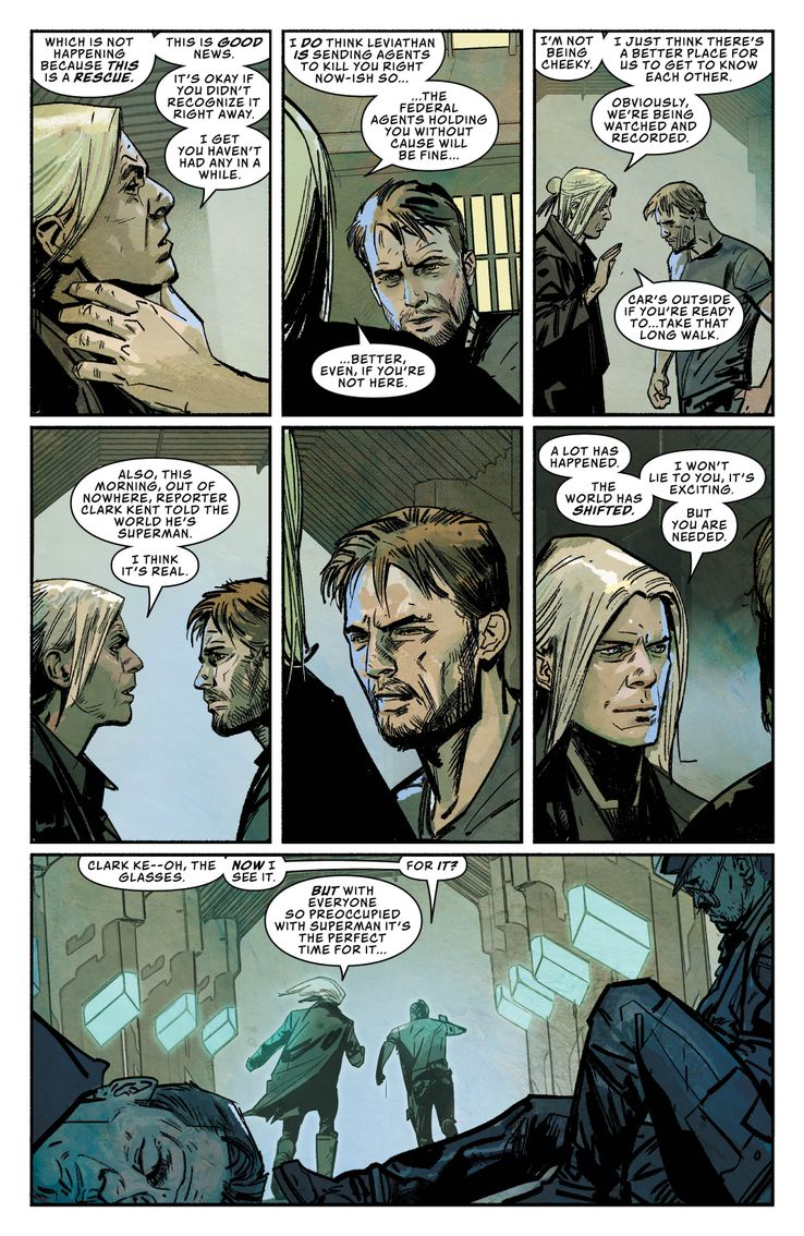 DC Comics Leviathan Dawn Brian Micheal Bendis Alex Maleev