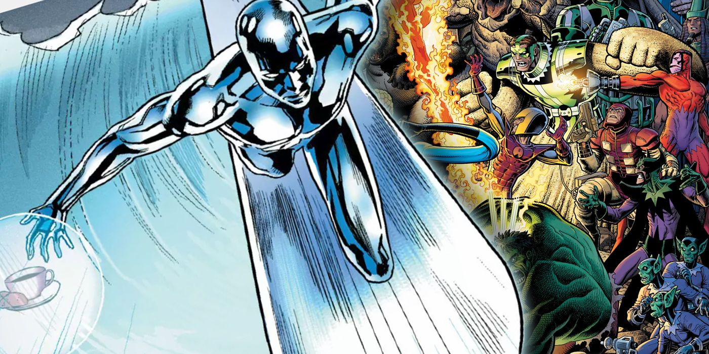 The Fantastic Four's Lamest Foe Made Silver Surfer His Herald... for Coffee