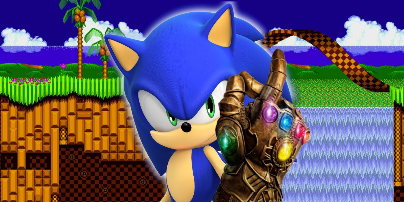 Sega S Sonic Games Have Their Own Infinity Stones Cbr
