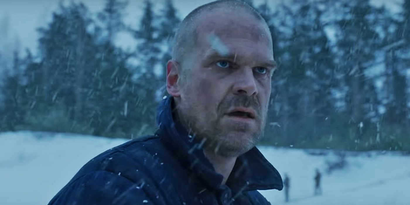 Stranger Things' David Harbour Shares a Live Video From the Season 4 Set