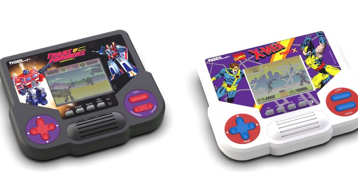 Hasbro Revives Tiger LCD Handheld Games with Transformers, Sonic & More