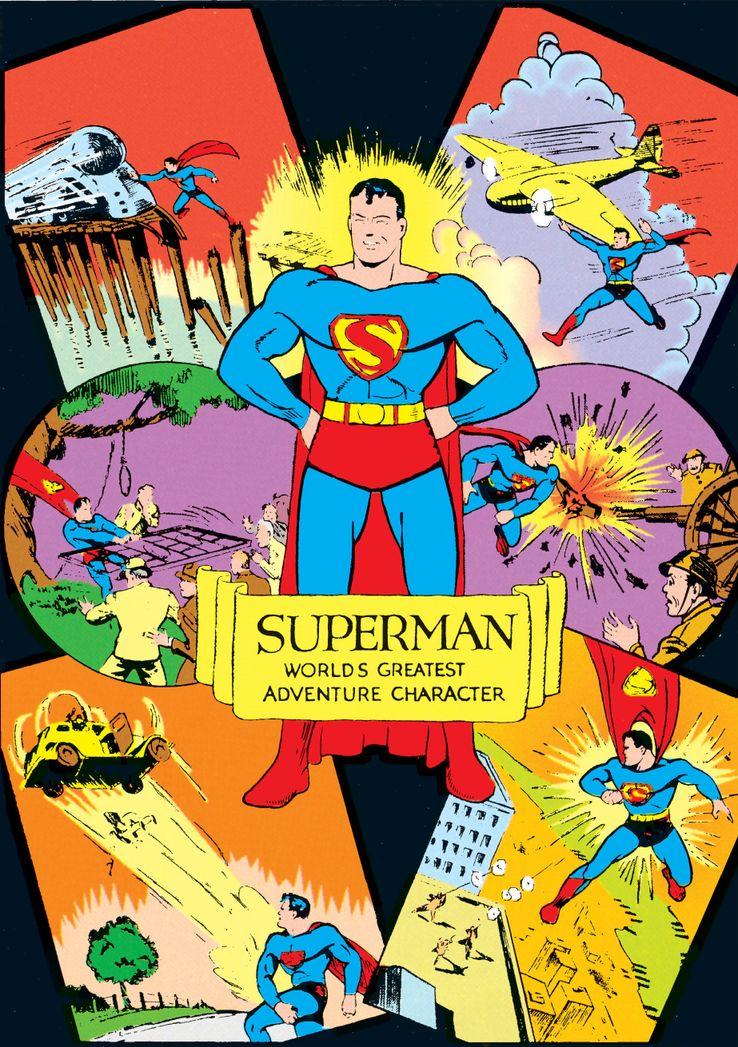 """cape superman 5 1 - ¿Cuándo añadió Superman una """"S"""" a su capa?"""