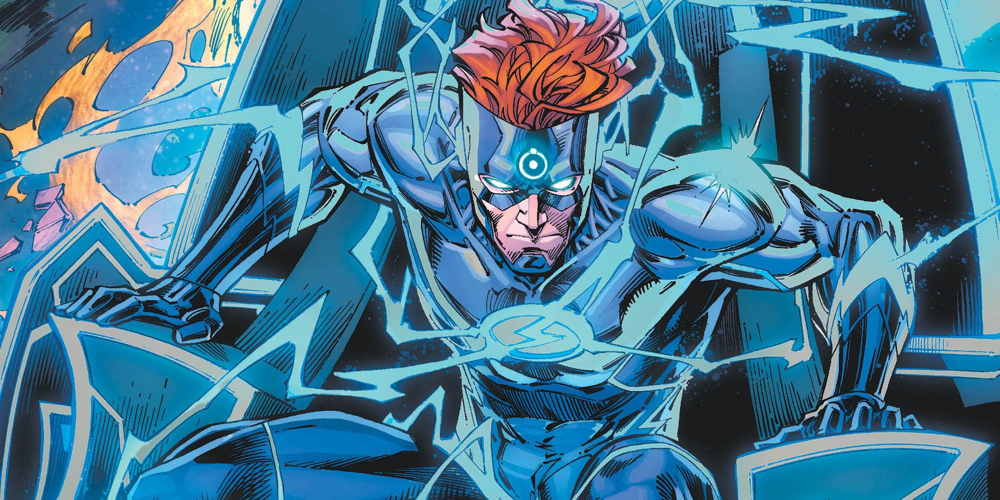 EXCLUSIVE PREVIEW: Wally West Becomes Doctor Manhattan in Flash Forward