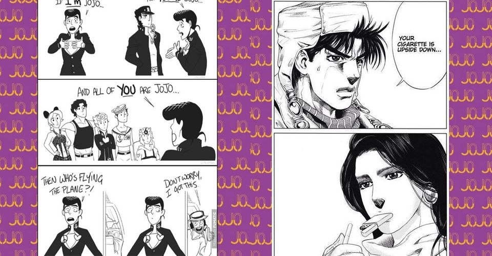 10 Jojo S Bizarre Adventure Comics That Are Too Hilarious For Words This is the jojo's bizarre adventure subreddit, and while the subreddit is named for part three: 10 jojo s bizarre adventure comics that