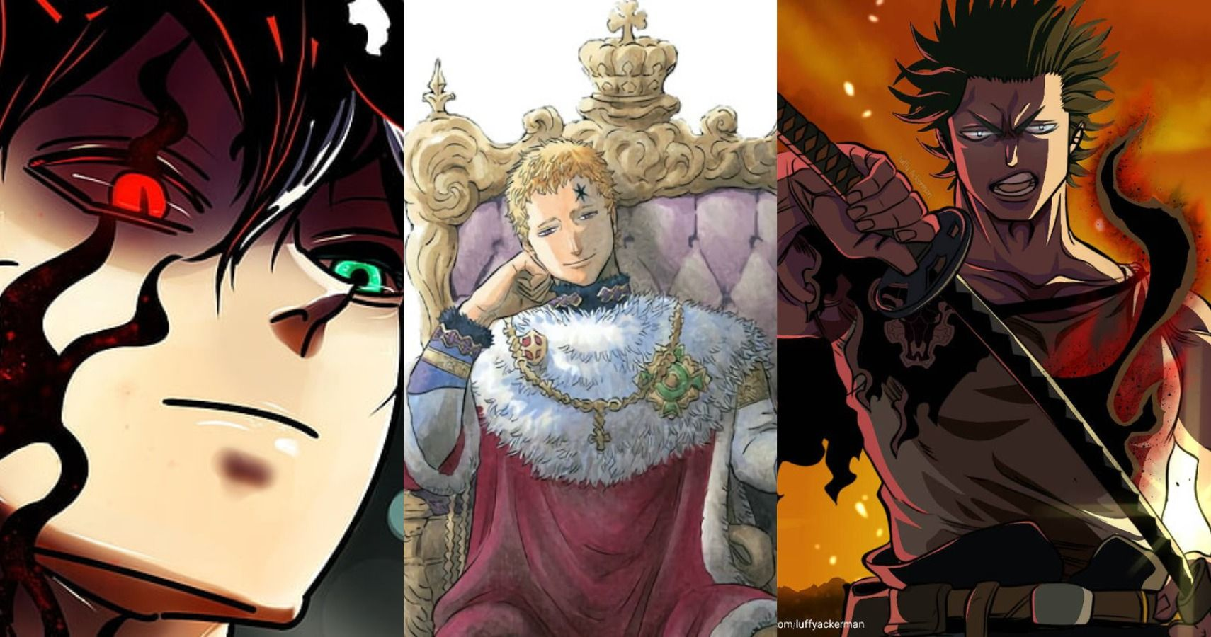 Black Clover Top 10 Contenders For The Title Of The Wizard King Ranked