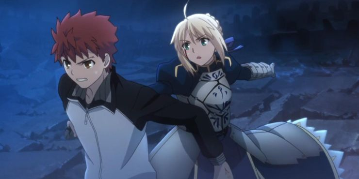 Fate 5 Reasons Why Shirou Emiya Saber Are The Perfect Pair 5
