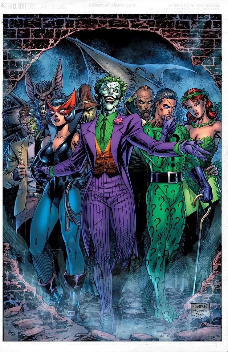 DC Comics Joker 80th Anniversary Jim Lee