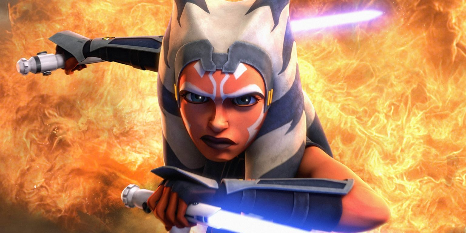 Star Wars: Why Ahsoka's Lightsabers Changed Color in The Clone Wars