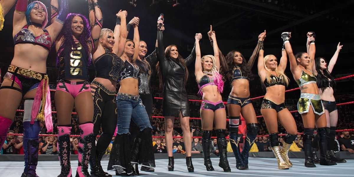WWE Hell in a Cell Made History, Featuring More Women's Matches Than Men's