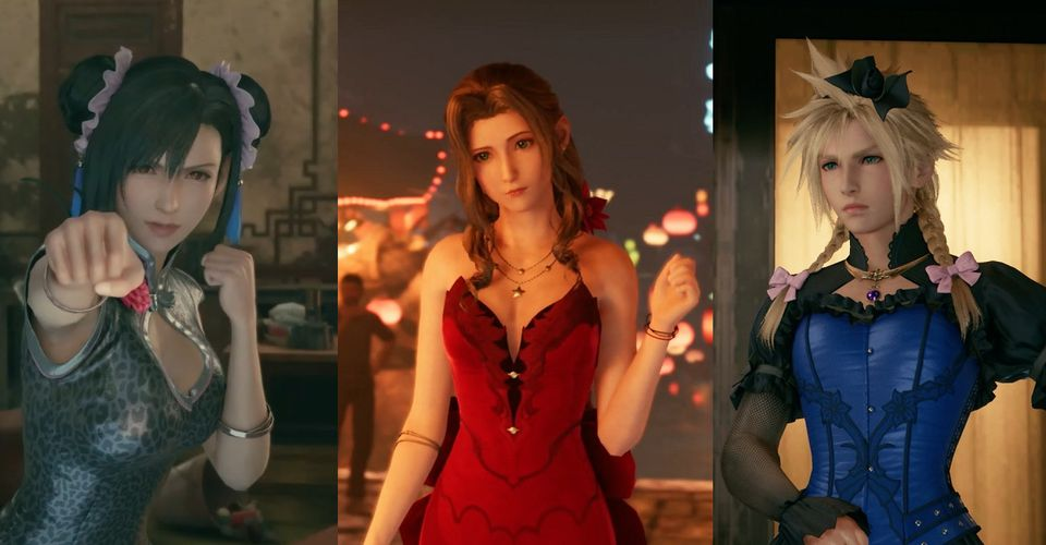 Final Fantasy Vii Remake How Earn The Dressed To The Nines Trophy
