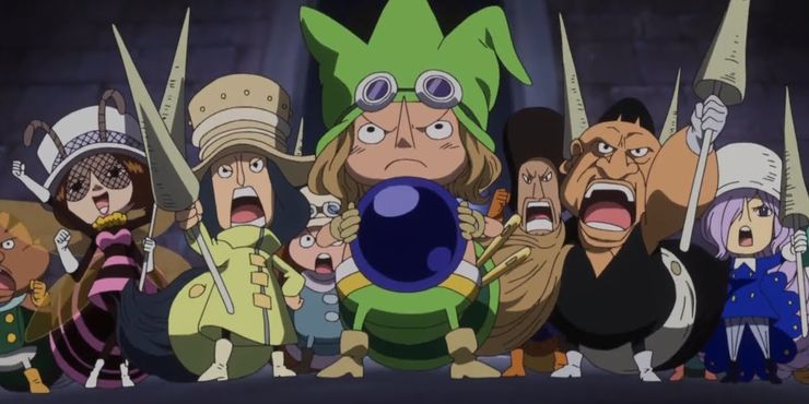 One Piece: 5 Things You Didn't Know About The Giants (& 5 Things You Didn't Know About Dwarves)