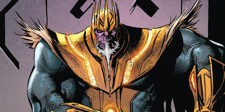 Even after Thanos's ultimate victory and destroying the universe, he loses as, in the end, he only desires death.