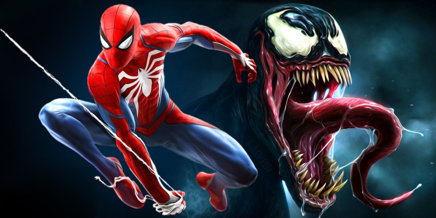 Spider Man and Venom