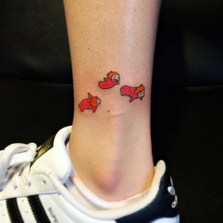 10 Best Studio Ghibli Tattoos That Will Make You Want To Get Inked