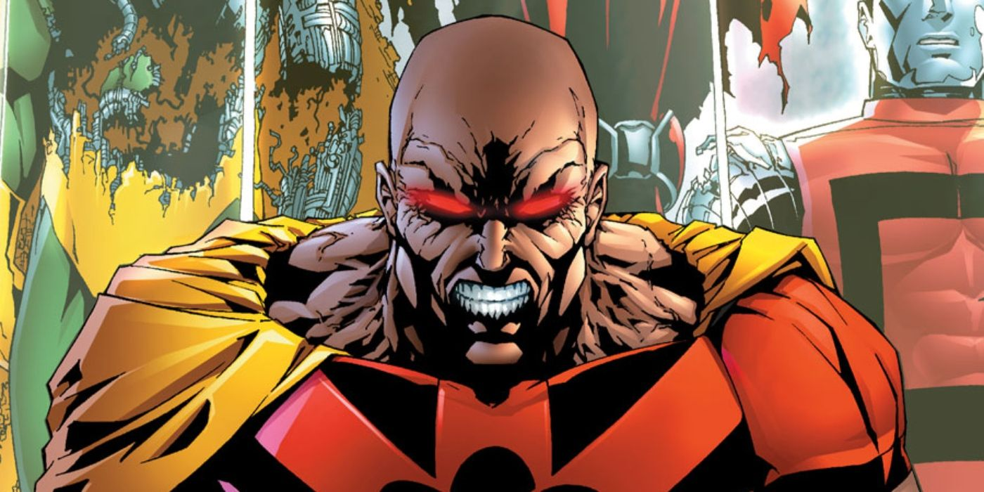 King Hyperion Who Is Marvel S Most Twisted Superman Cbr