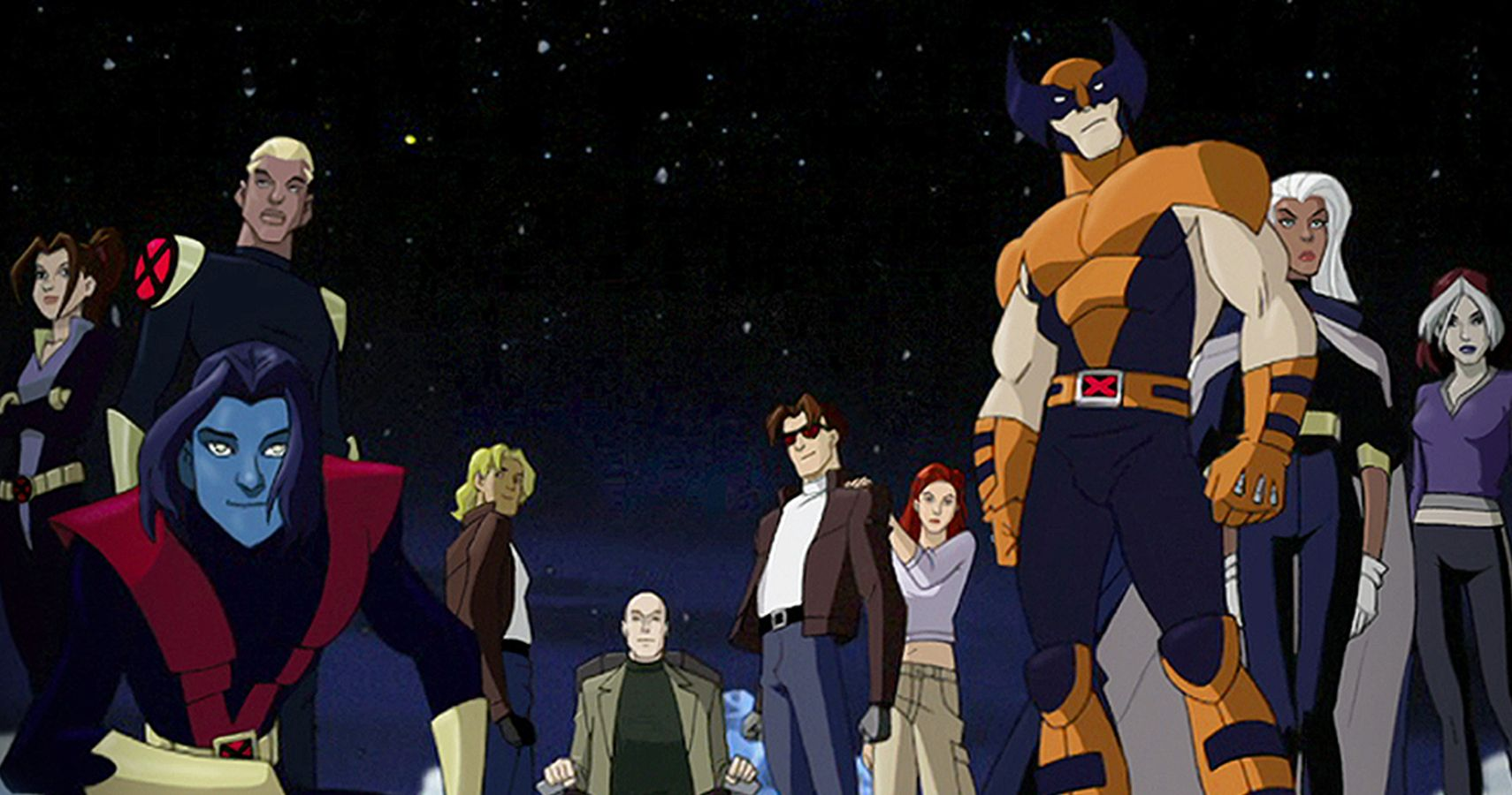 X-Men Evolution - In this series, a group of youngsters realizes their supernatural powers therefore making a team of young mutants fighting for the world peace. Professor Xavier trains these mutants to use their power for good. It has an ironic plot where the mutants were fighting for saving the world but the people got scared of them.