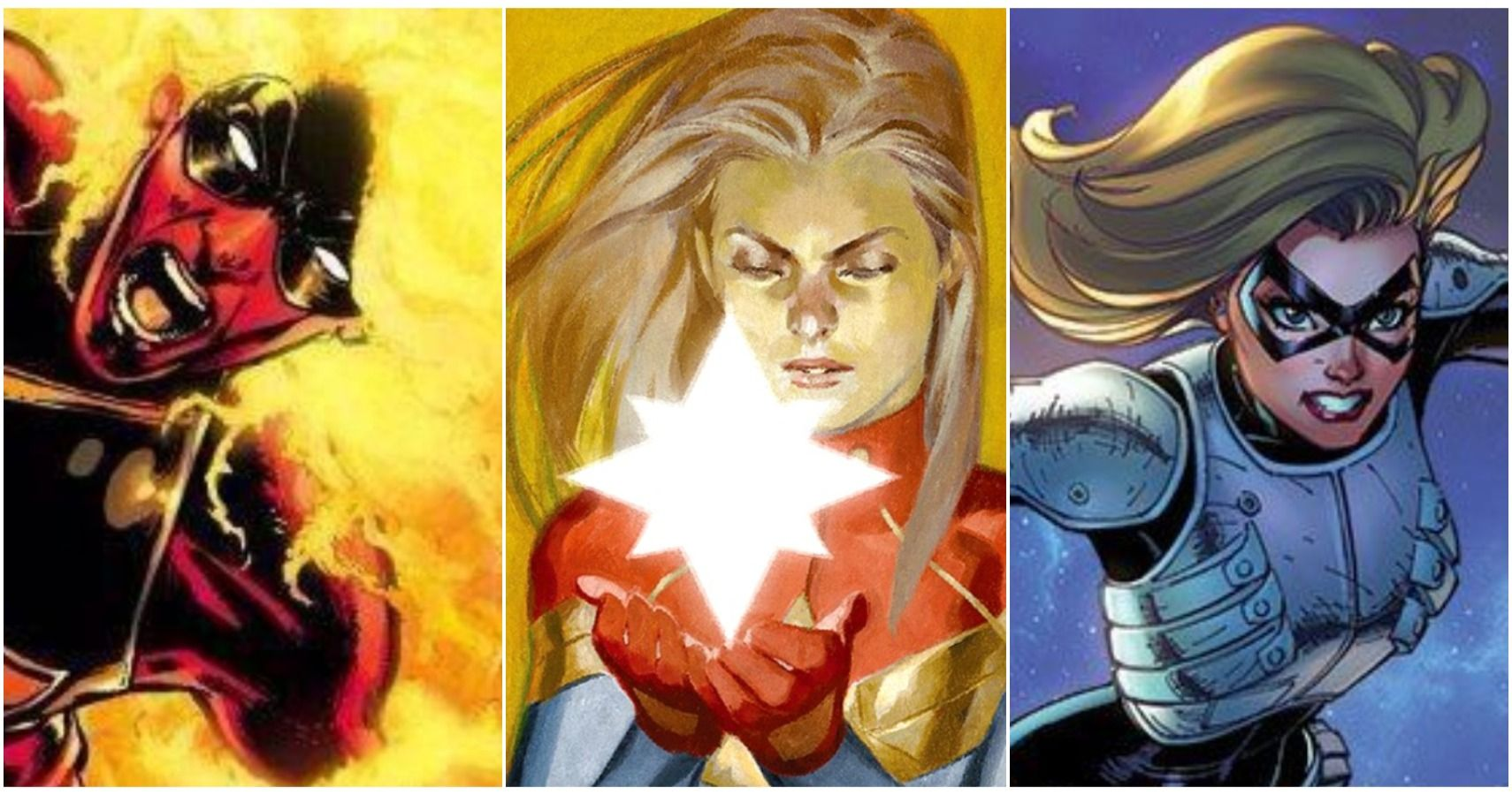 Captain Marvel 5 Best Costumes That Made Her Look Cool 5 Worst That Were Just Lame It seems like every time her series is rebooted, or a new author takes the helm, a related: captain marvel 5 best costumes that