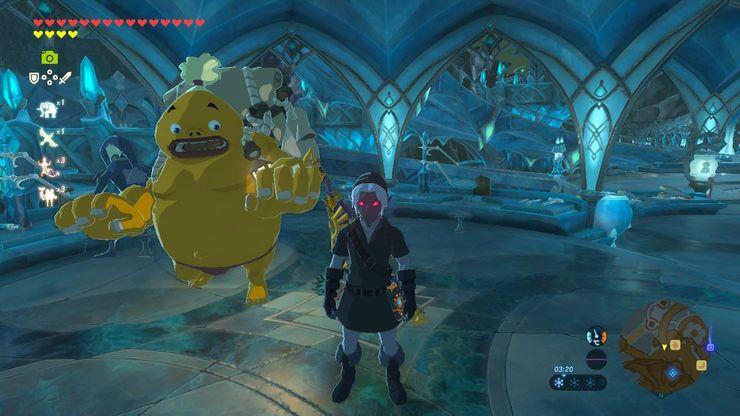 Legend Of Zelda Breath Of The Wild How To Get The Dark Link Armor Set
