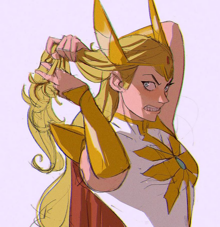 10 Beautiful Pieces She Ra And The Princesses Of Power Fan Art