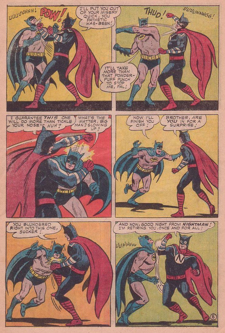 worlds finest comics 155 3 - Cuando Superman le hizo a Batman el regalo de aniversario más retorcido