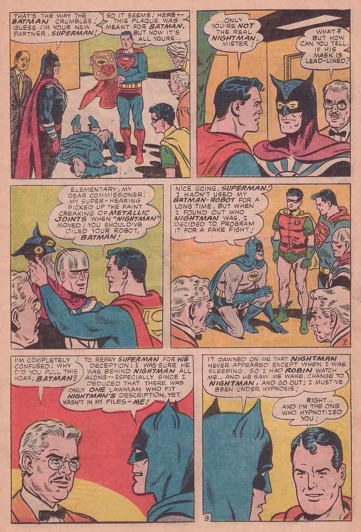 worlds finest comics 155 4 - Cuando Superman le hizo a Batman el regalo de aniversario más retorcido