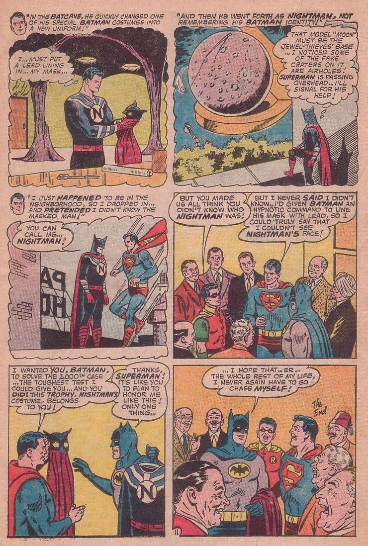 worlds finest comics 155 6 - Cuando Superman le hizo a Batman el regalo de aniversario más retorcido