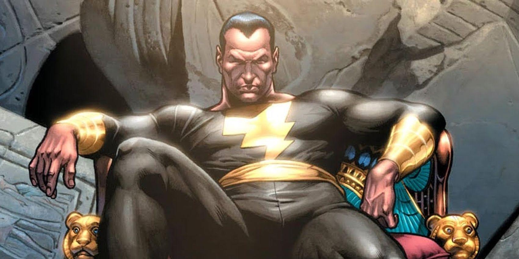 Black Adam: How the DCEU Villain Took on the DC Universe
