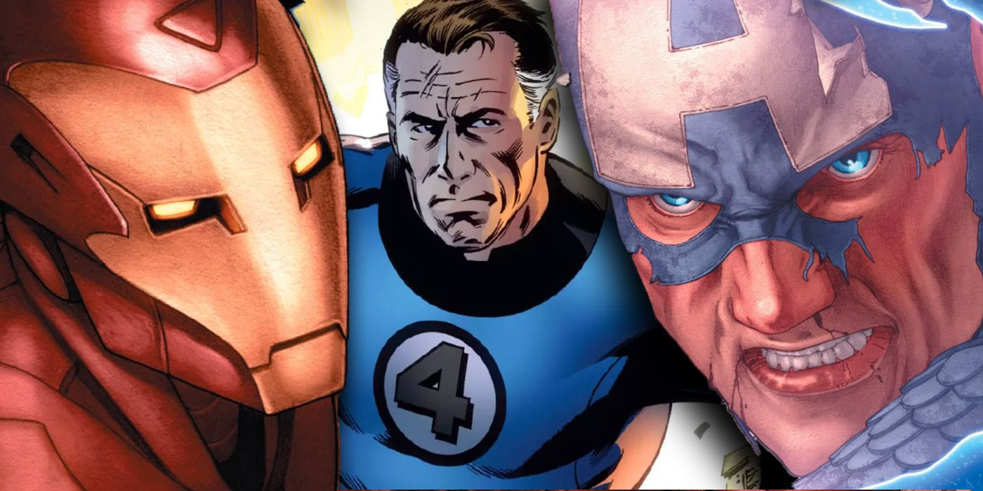 Marvel's Civil War Was ALMOST Stopped by Mister Fantastic | CBR