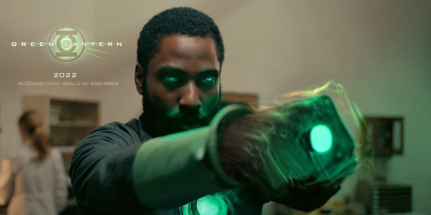 Tenet/Green Lantern Mashup Introduces John (David Washington) Stewart