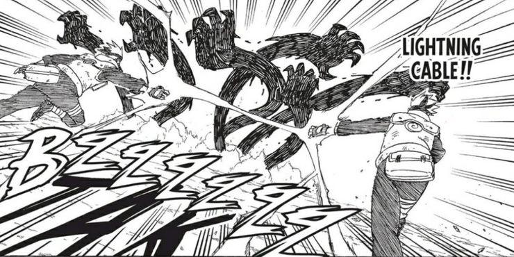 Por que o Kakashi não usa variações iguais as do Sasuke? Lightning-Transmission