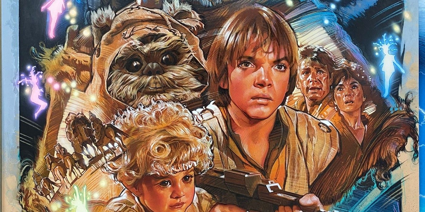 Star Wars: Disney+ Adds Ewok Adventure Movies, Holiday Special Animation in April