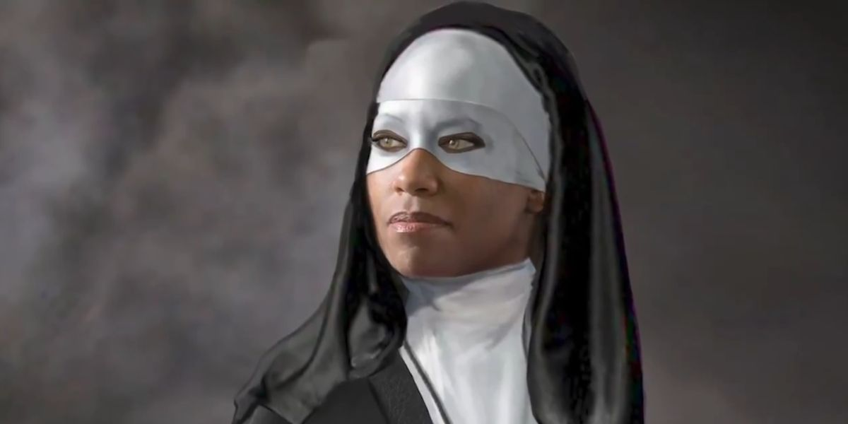 Watchmen: Early Costume Design for Regina King's Sister Night Revealed thumbnail
