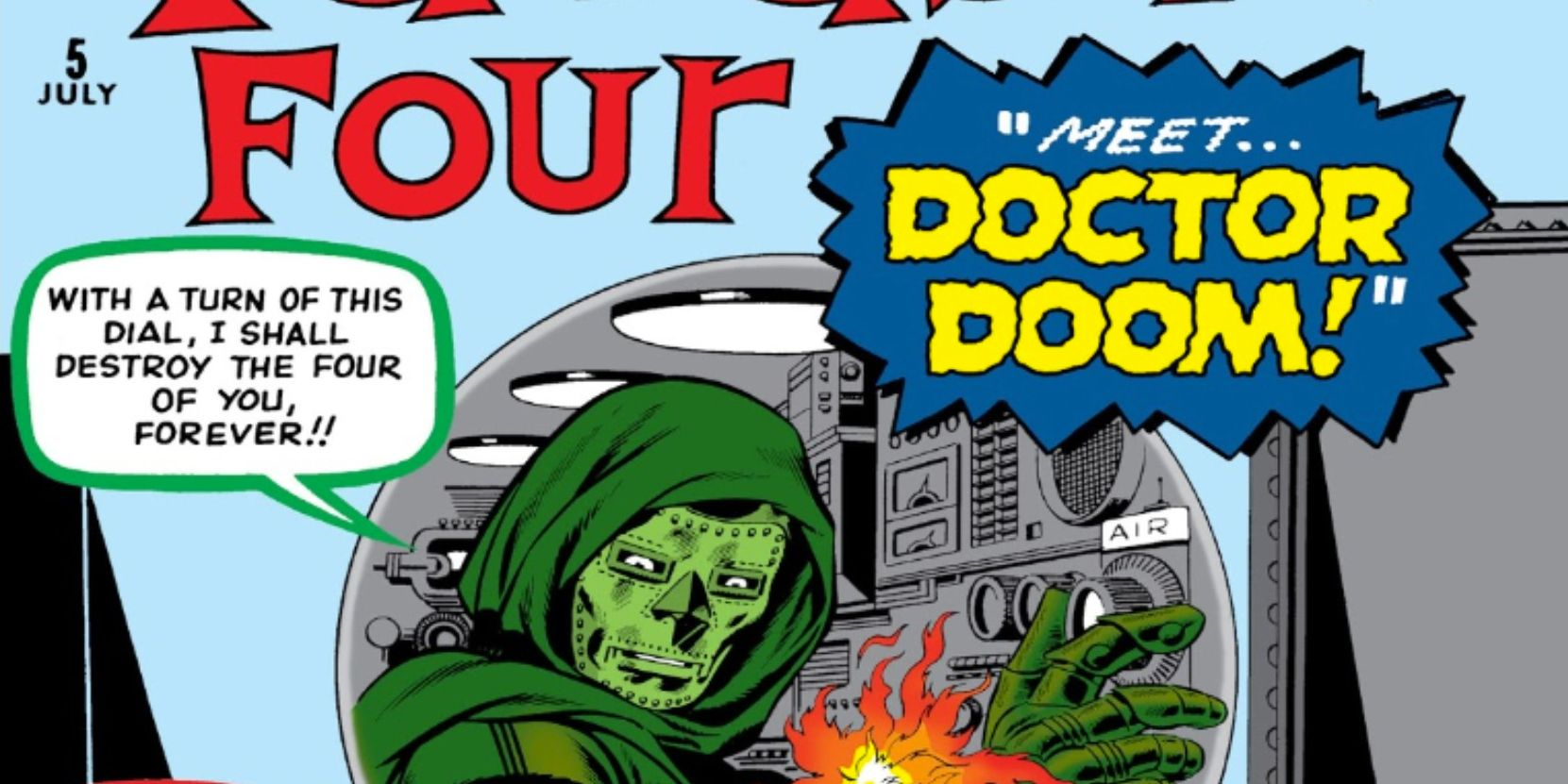 Fantastic Four: Doctor Doom's Debut Made The Thing Into Blackbeard