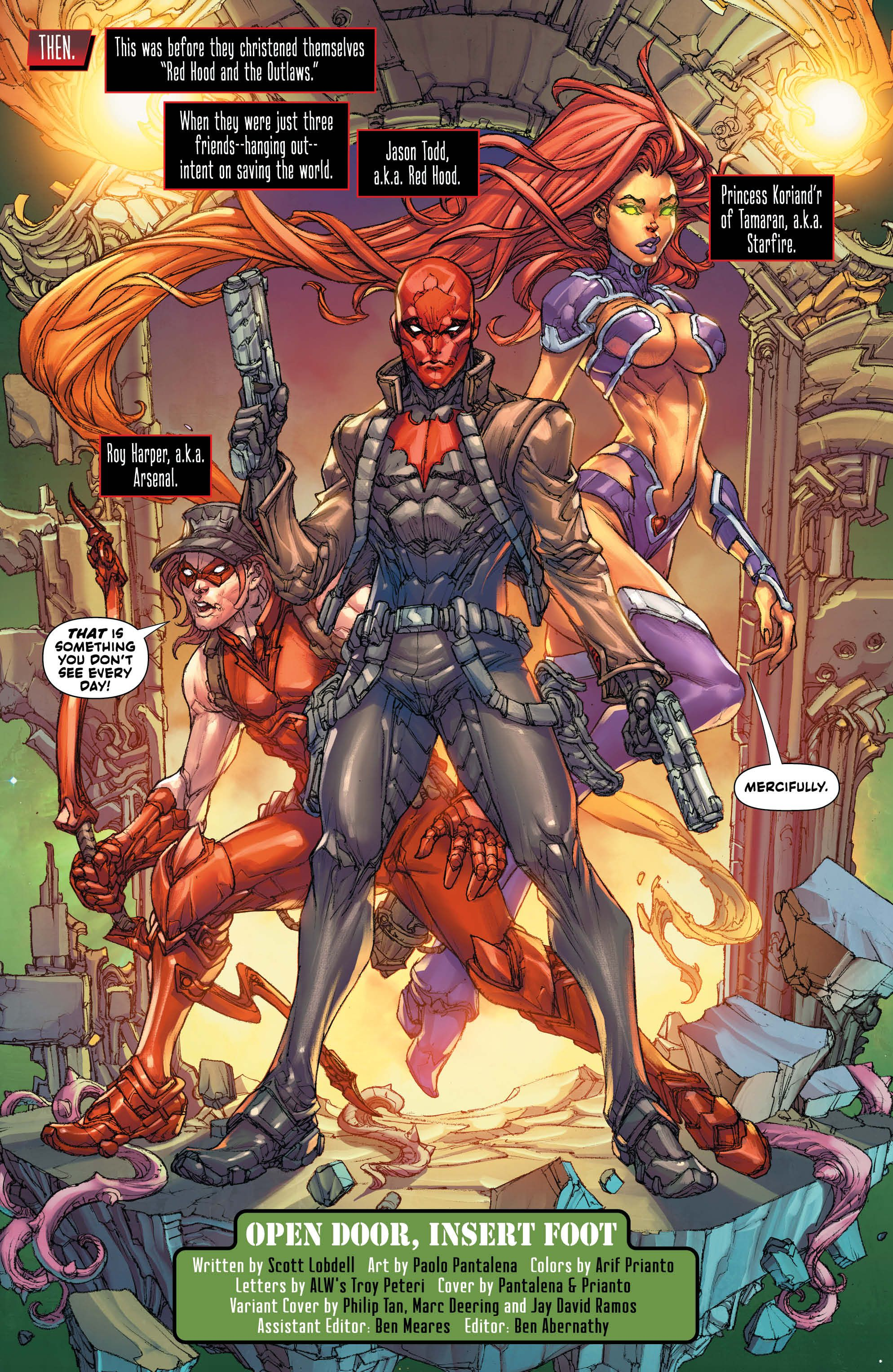 Preview Red Hood Outlaw 47 Cbr