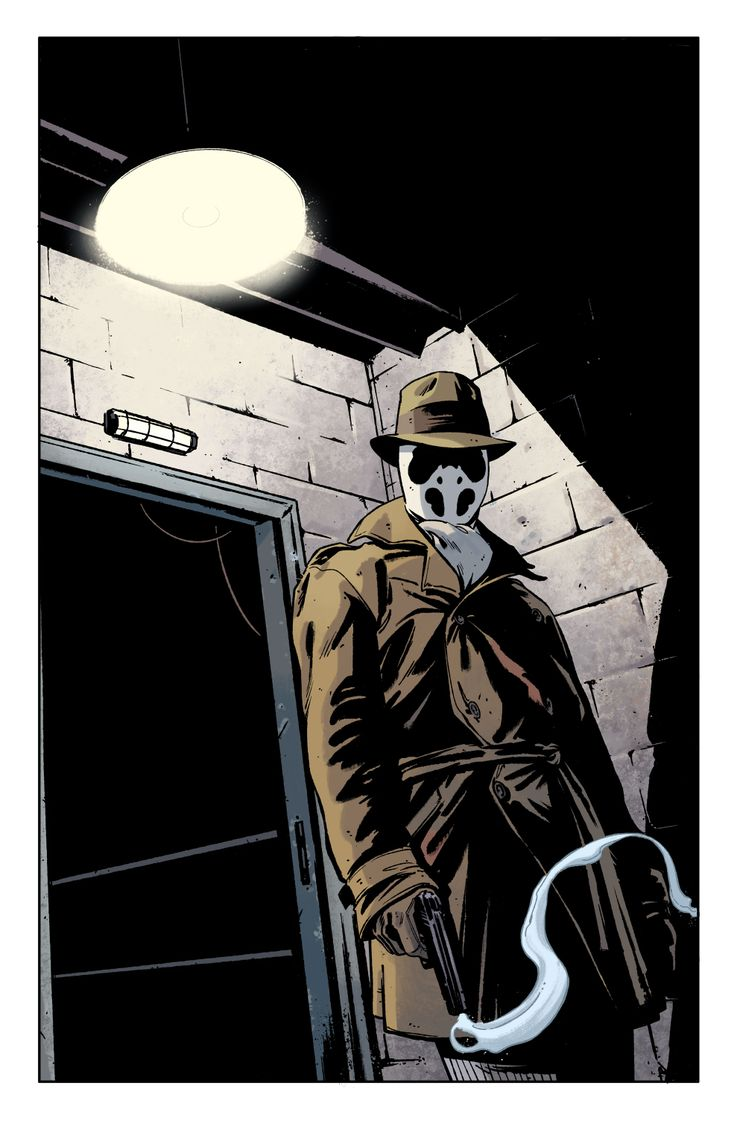 rorschach watchmen dc black label tom king