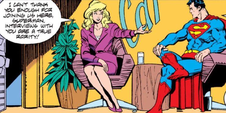 Superman Cat Grant - Ranking de los 10 amores más grandes de Superman
