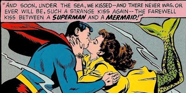 Superman Lori Lemaris - Los 10 romances más extraños de Superman en los cómics